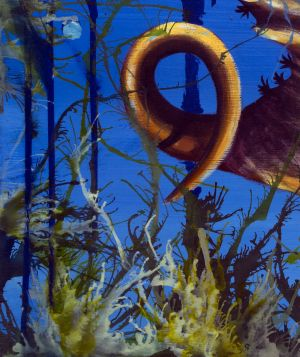 Orange Seahorse - Detail of bottom corner.jpg